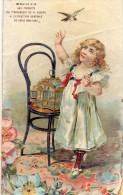 """CHROMO - IMAGE  - Produits Du """" TROCADERO """"  Médailles D'or  Exposition Générale De Paris 1894-1895 - Non Classés"""