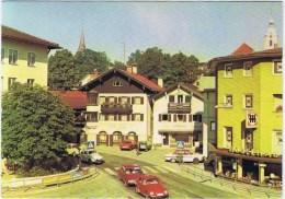 Cpm MIESBACH /BAYER . HOCHLAND Au Fond Café Tres Vieille Voitures - Allemagne