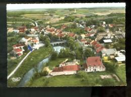 St Maurice S Vingeanne 293-34 A Vue Aérienne Le Pont Et Le Quartier De L'eglise (pli En H à G) - Autres Communes