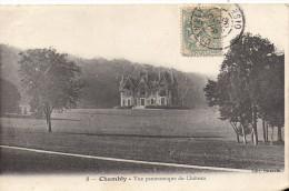 Cpa Chambly, Vue Panoramique Du Château - Autres Communes