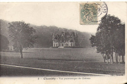 Cpa Chambly, Vue Panoramique Du Château - Frankreich