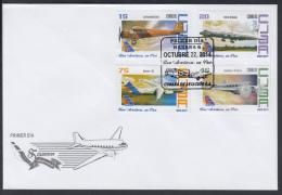 2014-FDC-31 CUBA 2014. CUBANA DE AVIACION. AVION. AIRPLANE. - FDC