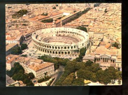 Nimes 30.189/12vue Aérienne Des Arènes Et Le Palais De Justice - Nîmes
