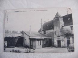 02 Lesges Cour Intérieure De L'ancien Château Féodal 1914 - Altri Comuni