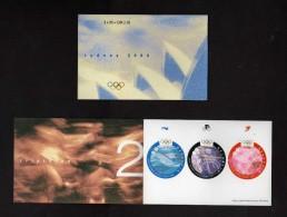 Svizzera ** - 2000 -  Sydney 2000, Jeux Olimpiques.   MNH - Blocchi