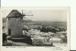 GREC256   --  MYCONOS  --   VUE PARTIELLE   --   MOULIN A VENT, WINDMILL - Grèce