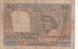 Banque De  MADAGASCAR Et Des COMORES - Comoros