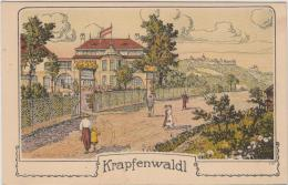 AK - Krapfenwaldl - Kaffee U. Gastwirtschaft  M. Breier - 1923 - Grinzing