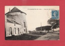 * CPA..dépt 77..CARNETIN  :   Tour Du XV Siècle..n°173..Scan B  : Voir Les 2 Scans - Autres Communes