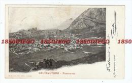 CALTAVUTURO - PANORAMA  F/PICCOLO VIAGGIATA - Palermo