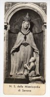 Santino  Nostra Signora Della Misericordia Di Savona - Image Pieuse, Holy Card - Devotion Images