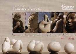 Costa Rica Sculptures By Jimenez Deredia Sc 637 MNH 2011 - Costa Rica