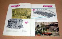 Katalog Von VOLLMER 1960, Zubehörteile Für Modell Eisenbahner, Sehr Schöne Ausgefallene Stücke, Printed In West-Ger ... - Duits
