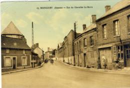 WOINCOURT (Somme) -- RUE  DU  CHEVALIER  LA  BARRE     Leger Pli Coin Haut à Gauche - Other Municipalities