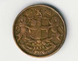 Inde Britannique -  EAST INDIA COMPANY - One Quarter Anna - 1858 - India