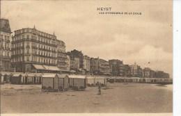 HEYST VUE D´ENSEMBLE DE LA DIGUE (1911) - Heist