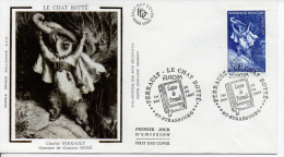 France FDC 26/04/1997 Chat Botté Europa Cept - Domestic Cats