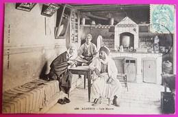 Cpa N° 499 Café Maure 1906 Carte Postale Algérie Métier Belle Animation - Algerien