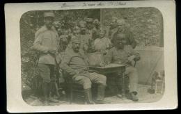 Photographie - Foto - Militaria - Carte Photo Militaire  Soldats  Poilus  14/18   WW1 - War, Military