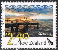 New Zealand 2010 Definitive $2.40 Good/fine Used [20/18538/ND] - Usati