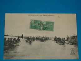 Viet-nam ) Cochinchine - Les Régate De Bienhoa - Année 1909 - EDIT: A.F Decoly - Viêt-Nam