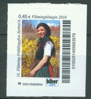 Biber Post, Mi 142 14. Fläming-Frühlingsfest 0,45 Glatt Langer UPOC Bp072 - [7] République Fédérale