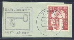 Germany Deutschland 1971 Slogan Cancellation: Post; Das Postfach Kennen, Das Postfach Nennen - Poste