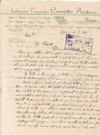 """MESSINA  - 1941  /   Corrispondenza  Commerciale - Stabilimento Tipografico  """" CONCETTA  PANTANO """"  _ Firma - Italia"""