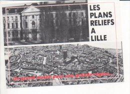 Polique,évènement - Carte Pétition Pour Le Comité De Soutien à L'installation Du Musée Des Plans Reliefs à Lille - Evènements