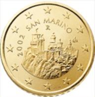 San Marino 2013    50 Cent   UNC Uit De Rol - UNC Du Rouleaux   Zeldzaam - Extreme Rare - San Marino
