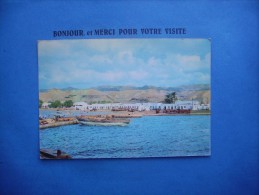 1??  Cp  Timbre  Vue Generale    Tadjoura  Djibouti - Djibouti