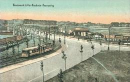Boulevard Lille Roubaix Tourcoing Tramway Tram Um 1910 - Lille