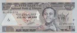 Etiopia 1 Birr 1997 Non Circolata - Ethiopie