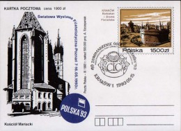 Poland Pologne, Congress Of CIC, International Council For Game And Wildlife Conservation, Hunting. Cracow 1993. - Gibier