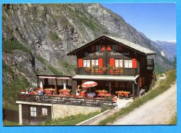 Mans1198, Zermatt, Restaurant Ried ,GF,circulée 1985 - VS Valais