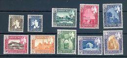 ADEN KATHIRI STATE 1954 DEFINS SG 29-38 MNH - Aden (1854-1963)