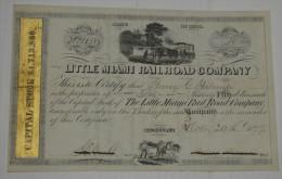 Little Miami Railroad Cy - Chemin De Fer & Tramway