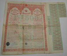 Empire Ottoman, Dette Convertie Unifiée - Banque & Assurance