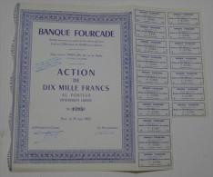 Banque Fourcade, Petit Tirage - Banque & Assurance