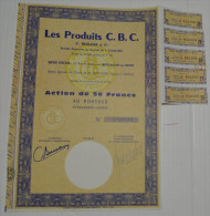 Les Produits CBC à Boulogne Sur Seine, Stts à Amiens, K De 2.240.000 - Industrie