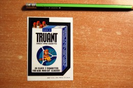 Rare Vintage 1973-1976  TRUANT Wacky Card From Series 6 Sticker Decal - Stickers