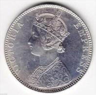 @Y@    BRITISH INDIA   1 Rupee 1891 High Grade (2336) - India