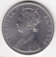 @Y@    BRITISH INDIA    1 Rupee 1884 High Grade (2335) - India