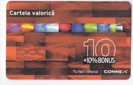 Romania ,  Prepaid Phonecard -  Connex  ,  10  , Paper , Used - Romania