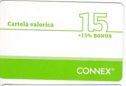 Romania  ,  Roumanie , Prepaid Phonecard -  Connex  ,  15  , Paper , Used - Romania