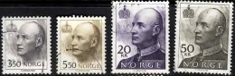 NORWAY 1992 Harald 3k50, 5k50, 20k, 50k Used - Norwegen