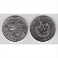 2005-MN-1 CUBA. KM ¿?. 1$. 2005. COPPER- NICKEL. TABACO CUBANO. CUBAN TOBACCO. INDIAN. SHIP. - Cuba