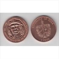 2003-MN-2 CUBA. KM ¿?. 1$. 2003. COPPER. COBRE. ERNESTO CHE GUEVARA. - Cuba