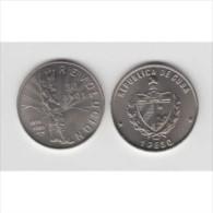 1989-MN-6 CUBA. KM 253. 1$. 1989. COPPER- NICKEL. UNC. 30 ANIV REVOLUCION. REVOLUTION. FIDEL CASTRO. - Cuba