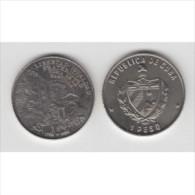1989-MN-2 CUBA. KM 272. 1$. 1989. COPPER- NICKEL. UNC. 200 ANIV REVOLUCION FRANCESA. FRANCE REVOLUTION. - Cuba